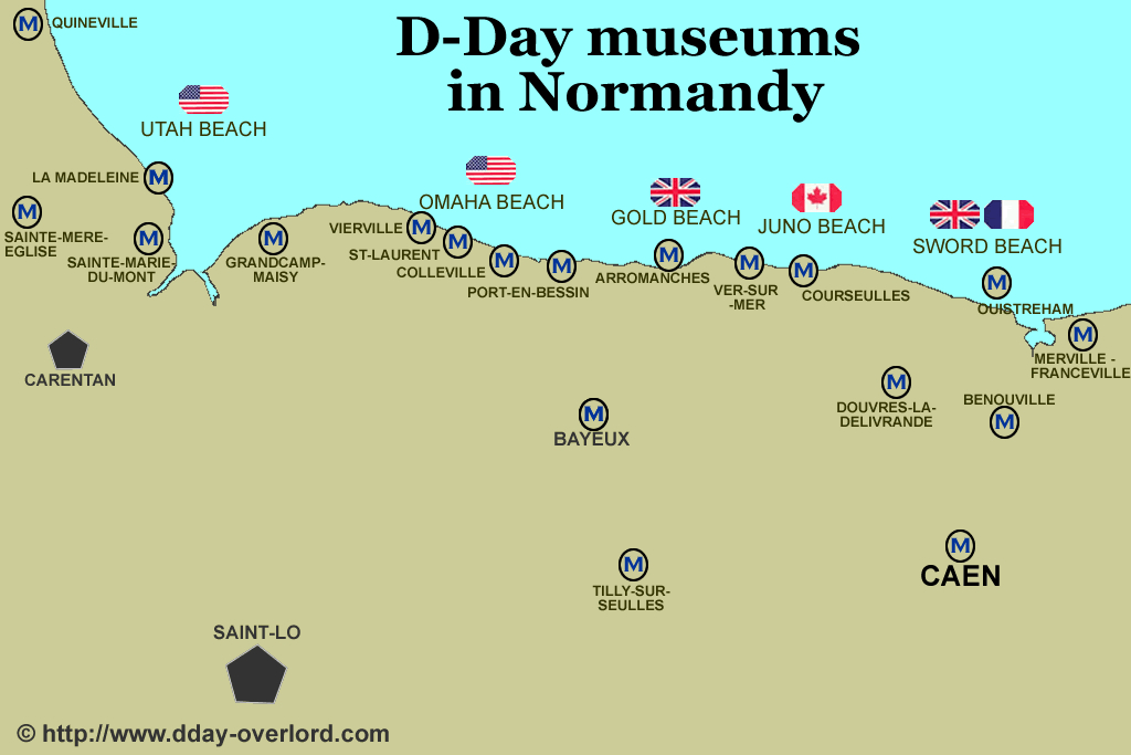 d-day normandy invasion facts