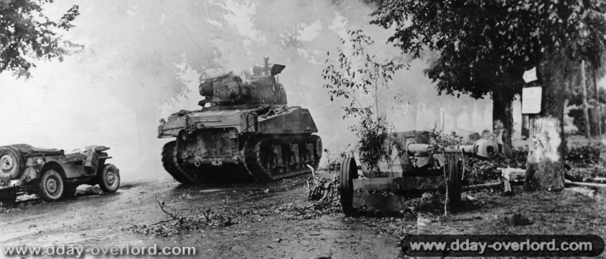 Photos De Dreux Pendant La Bataille De Normandie Dans Les