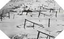 Images : Défenses de plages sur les côtes normandes (photo prise d'un appareil de reconnaissance Allié)