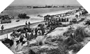 Image :  Landing of the reinforcements on Utah Beach: men, material and vehicles