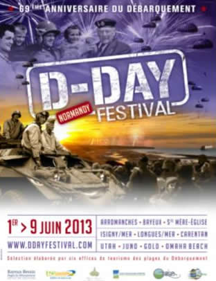 Image: 69th D-Day anniversary poster