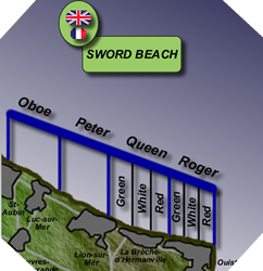 Image : Plan de Sword Beach