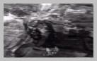 Vue aérienne des bombardements aériens alliés sur Bretteville-sur-Laize