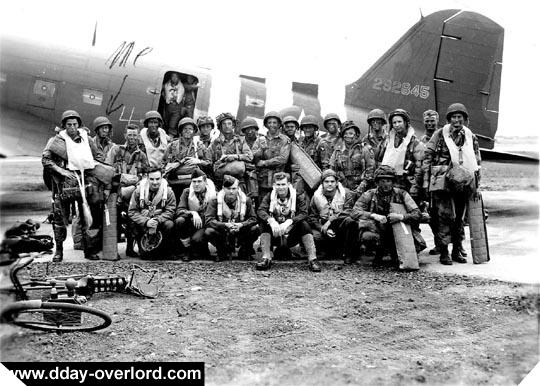 Image : Pathfinders de la 101st Airborne Division - Stick 2 - 506th PIR