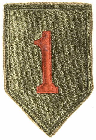 Image : 1st Infantry Division