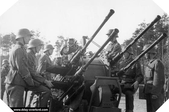 Image : canon de 20 mm Flak 38
