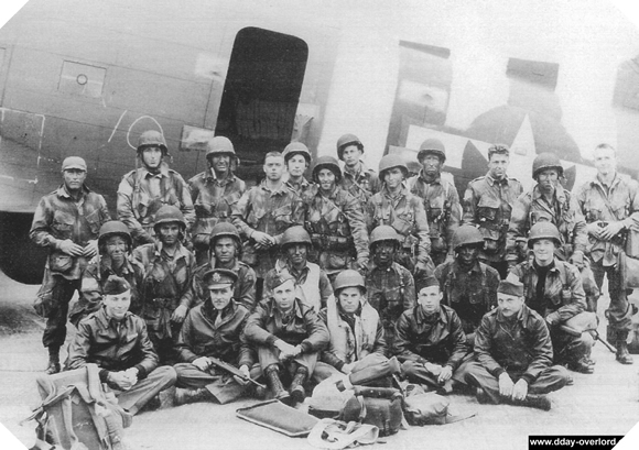 Image : Pathfinders du 2ème bataillon du 505th PIR de la 82ème division aéroportée