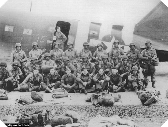 Image : Stick 1 du 507th PIR de la 101ème division aéroportée