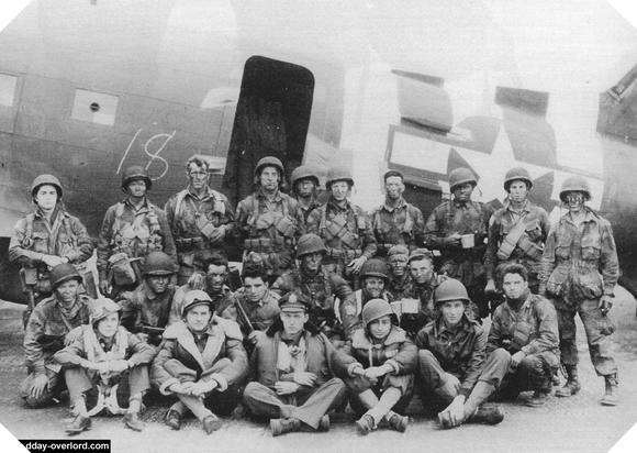Image : Stick 3 du 508th PIR de la 101ème division aéroportée