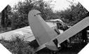 Image : Un laneur Waco CG-4A abimé lors de son atterrissage