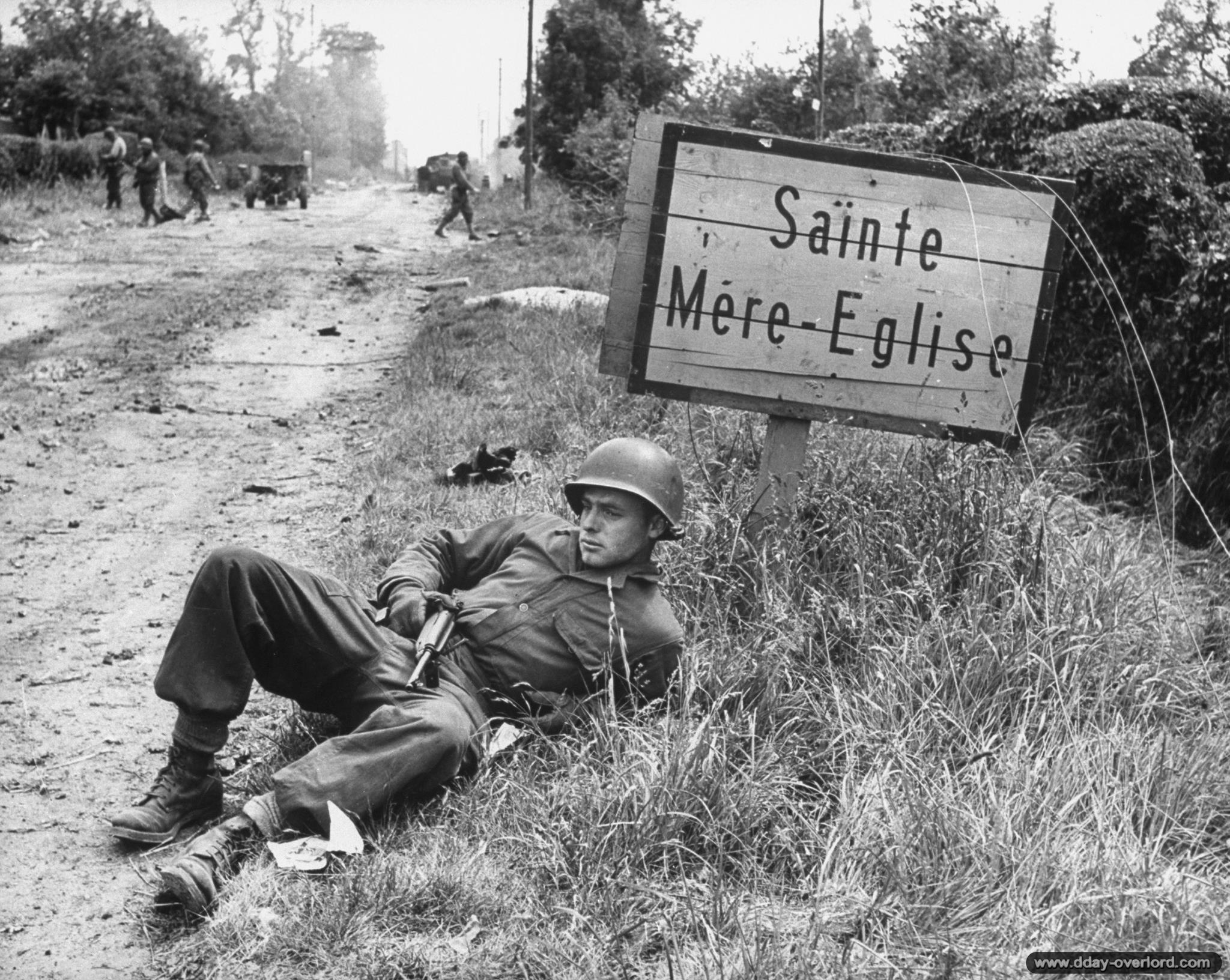 Les op rations a roport es am ricaines en normandie 6 juin 1944 - Office du tourisme ste mere eglise ...