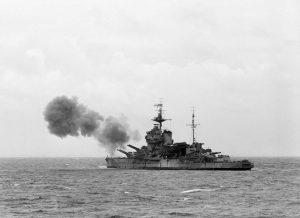 HMS Warspite IWM A23916