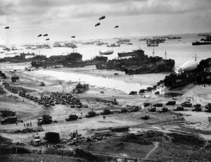 Résumé du débarquement - Omaha Beach - 1944