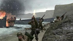 Jeux vidéos du débarquement et de la bataille de Normandie
