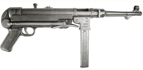"""Image : MP (Maschinenpistole) 40 """"Schmeisser"""""""