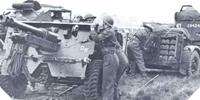 Image : Artillerie utilisée pendant la bataille de Normandie