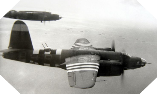 Image : forces aériennes pendant la bataille de Normandie