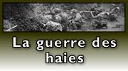 Lien : La guerre des haies pendant la bataille de Normandie
