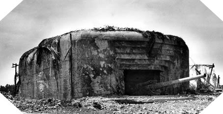 Image : Le Mur de l'Atlantique en Normandie - Batterie de Crisbecq