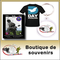 Lien : Boutique du 70ème anniversaire du Jour-J