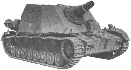 Image : SdKfz 166 Brummbär