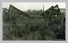 Image : Le pont ferroviaire de Bures-sur-Orne détruit le 6 juin 1944 à 09h15 par les parachutistes du lieutenant Shave de la troisième section du 3rd Parachute Squadron RE.