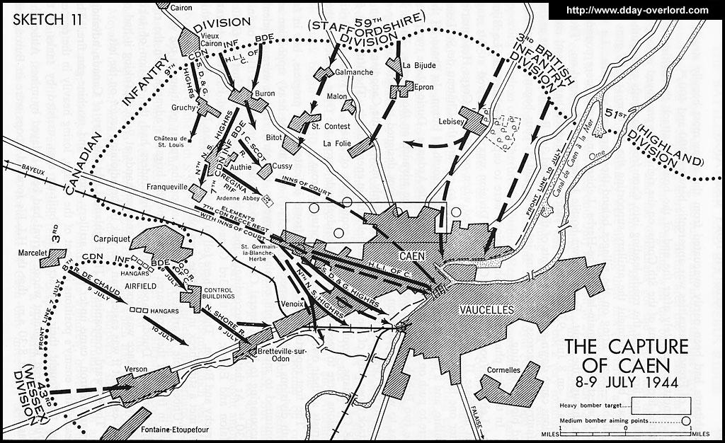 Image : Caen Juillet 1944 : la bataille finale