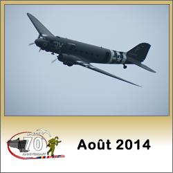 Image : programme des commémorations du débarquement de Normandie en juillet 2014