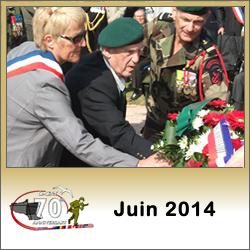 Image : programme des commémorations du débarquement de Normandie en juin 2014