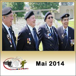 Image : programme des commémorations du débarquement de Normandie en mai 2014