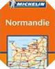 Image : Carte routière : Basse-Normandie, Haute-Normandie