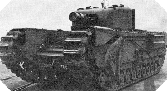 Image : Char Mark IV Churchill Avre