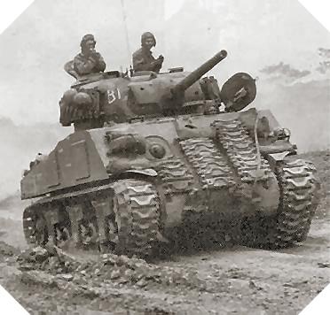 Image : char Sherman M4A4 Sherman