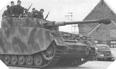 Image : Char <em>Panzer</em> IV J