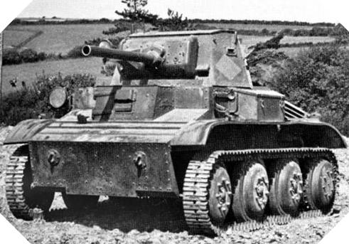 Image : Char Mk VII Tetrarch