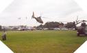 Image : Un helicoptère Dauphin aux cérémonies de Utah Beach (6 juin 2003)