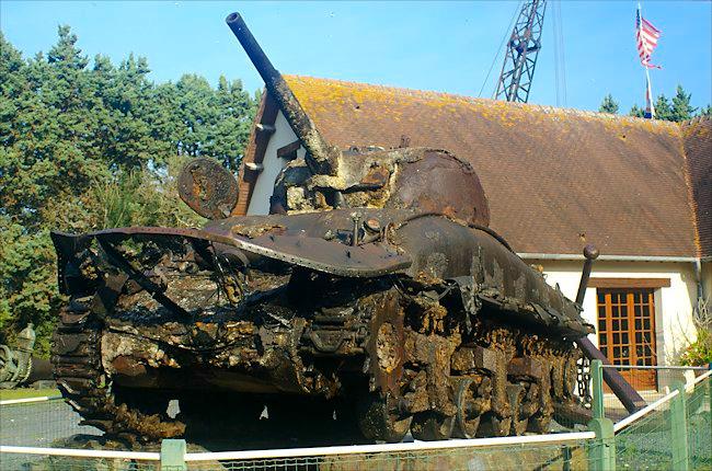 Musée des épaves du débarquement - Commes, Normandie