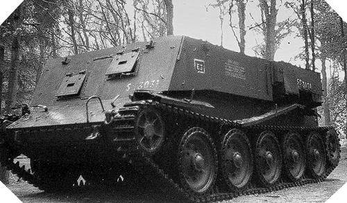 Image : Crusader Gun Tractor