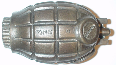 Image : Grenade Mark I numéro 36 Mills