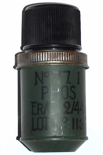 Image : Grenade fumigène N°77