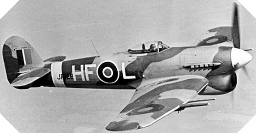 Image : Hawker Typhoon