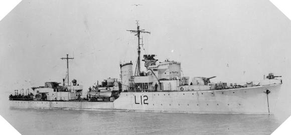 Image : HMS Albrighton