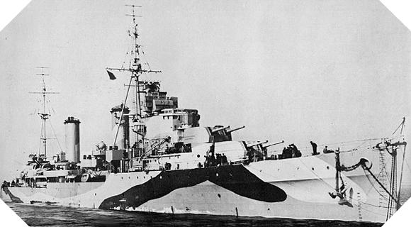 Image : HMS Arethusa