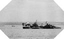Image : L'HMS Belfast ouvre le feu sur les positions allemandes le 6 juin 1944