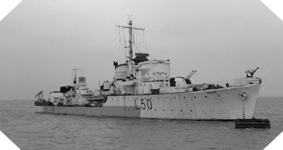 Image : HMS Bleasdale