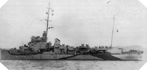 Image : HMS Dacres