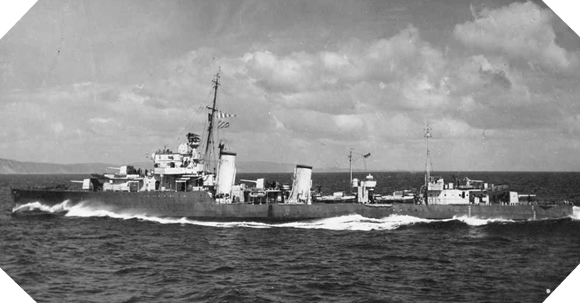 Image : HMS Faulknor