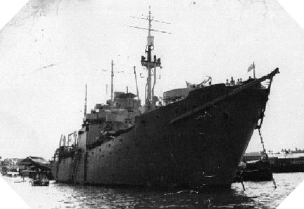 Image : HMS Largs
