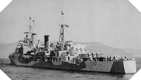 Image : HMS Mauritius