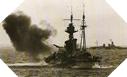 Image : L'HMS Roberts ouvre le feu sur les positions allemandes du secteur de Sword Beach le 6 juin 1944